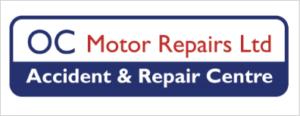 oc motor repairs accident and repair centre logo